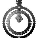 1552_Truth Tide Clock Black